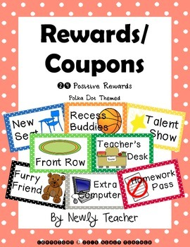 Polka Dot Coupons - Rewards