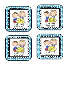 Polka Dot Daily 5 Center Cards