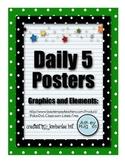 Polka Dot Daily 5 Posters