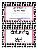 Polka-Dot Days of the Week