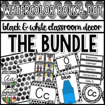 Polka Dot Decor: 400 Page Bundle Editable
