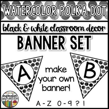 Polka Dot Decor: Banner