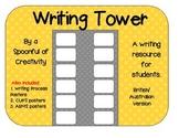 Polka Dot Design Writing Resource Bundle British/Australian