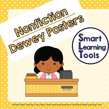 Dewey Section Signs: Polka Dot Theme