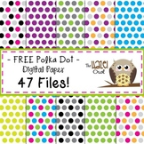 FREE Digital Papers: Polka Dots
