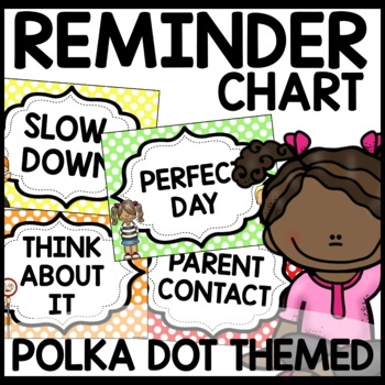 Polka Dot Discipline Chart