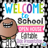 Polka Editable Welcome & Open House / Meet the Teacher Powerpoint Presentation