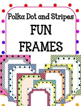 Polka Dot FUN FRAMES