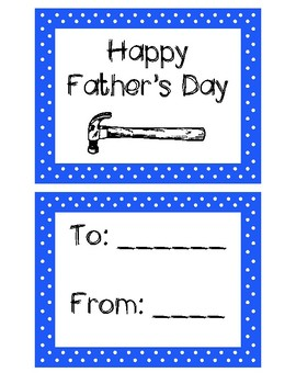Polka Dot Father's Day Coupons