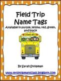 Polka Dot Field Trip Name Tags
