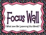 Polka Dot Focus Wall Skills Headers