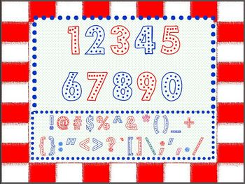 Polka-Dot Font