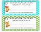 Polka Dot Fox Nameplates with Data Information