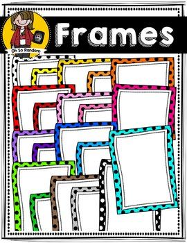 Polka Dot Frames (CU)