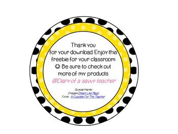 Polka Dot Free Reading Group Labels