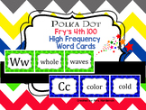 Polka Dot Fry's 4th 100 Word Cards