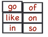 Polka Dot Fry's First 100 Words the Word Wall