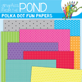 Polka Dot Fun Digi Papers