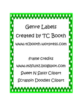 Polka Dot Genre Labels