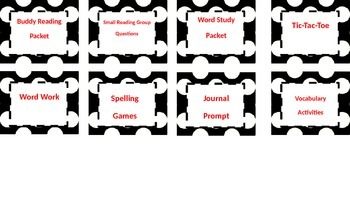 Polka-Dot Guided Reading Rotations and Posters