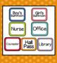Polka Dot Hall Passes (Includes Editable Passes!)