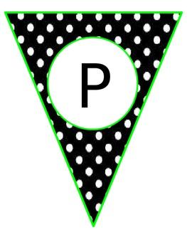Polka Dot Happy Birthday Banner