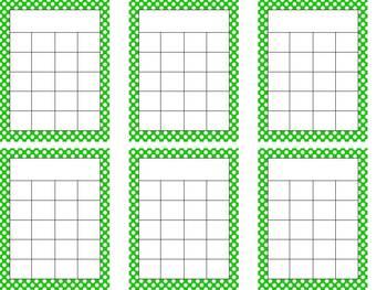 Polka Dot Incentive Charts
