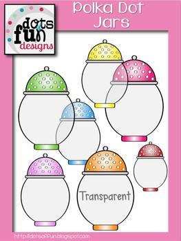 Polka Dot Jar Graphics