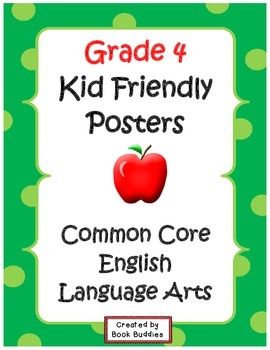 Common Core Standards Posters Grade 4
