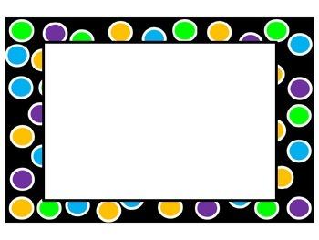 Polka Dot Labels