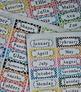 Polka Dot Labels -  30 Address Label Size Sheets (Avery 81