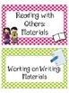 Polka Dot Labels, Signs & Decor MEGA PACK!  New design, clip art, and content
