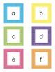 Polka Dot Square Letter Cards
