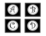 Polka Dot Letters