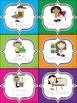 Polka Dot Literacy Station Labels (English)