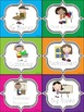 Polka Dot Literacy Station Labels (English)