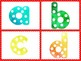 Polka Dot Lowercase Letters for Teacher Materials & Classroom