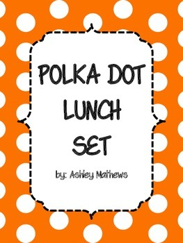 Polka Dot Lunch Set