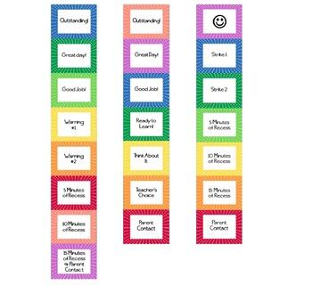 Polka Dot Management Clip Chart