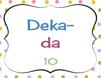 Polka Dot Metric Conversion Posters