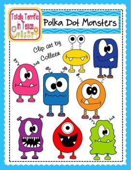 Monster (Polka Dot) Cuties