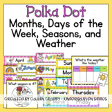 Months and Days of the Week [Polka Dots]