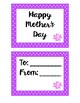 Polka Dot Mother's Day Coupons