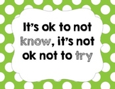 Polka Dot Motivational Posters