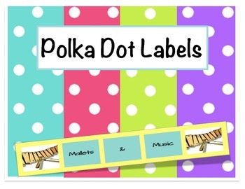 Polka Dot Music Labels