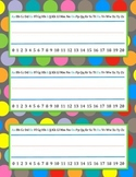 Polka Dot Name Plates {FREEBIE}