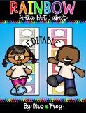 Polka Dot Name and Label Tags