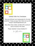 Classroom Newsletters in Polka Dot