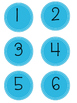 Polka Dot Number Labels Bundle