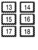 Polka Dot Number Labels *Editable*